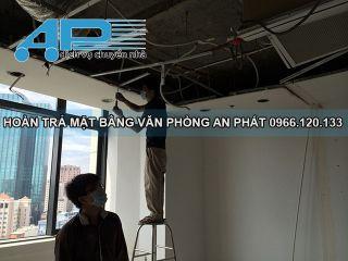 Dịch vụ phá dỡ trần vách thạch cao tại Hà Nội