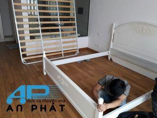 Cách tháo lắp giường tủ khi chuyển nhà