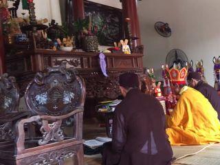 Thầy cúng nhập trạch về nhà mới khai trương động thổ tại Hà Nội