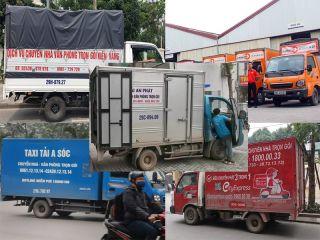 Đánh giá các hãng taxti tải tại Hà Nội