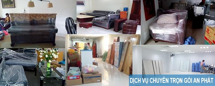 Dịch vụ chuyển nhà, văn phòng trọn gói An Phát