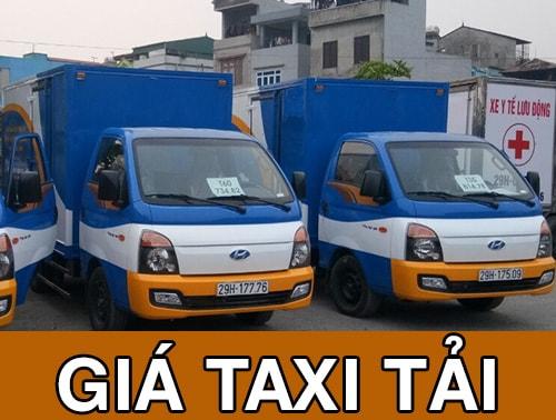Giá thuê taxi tải chở hàng chuyển nhà tại Hà Nội